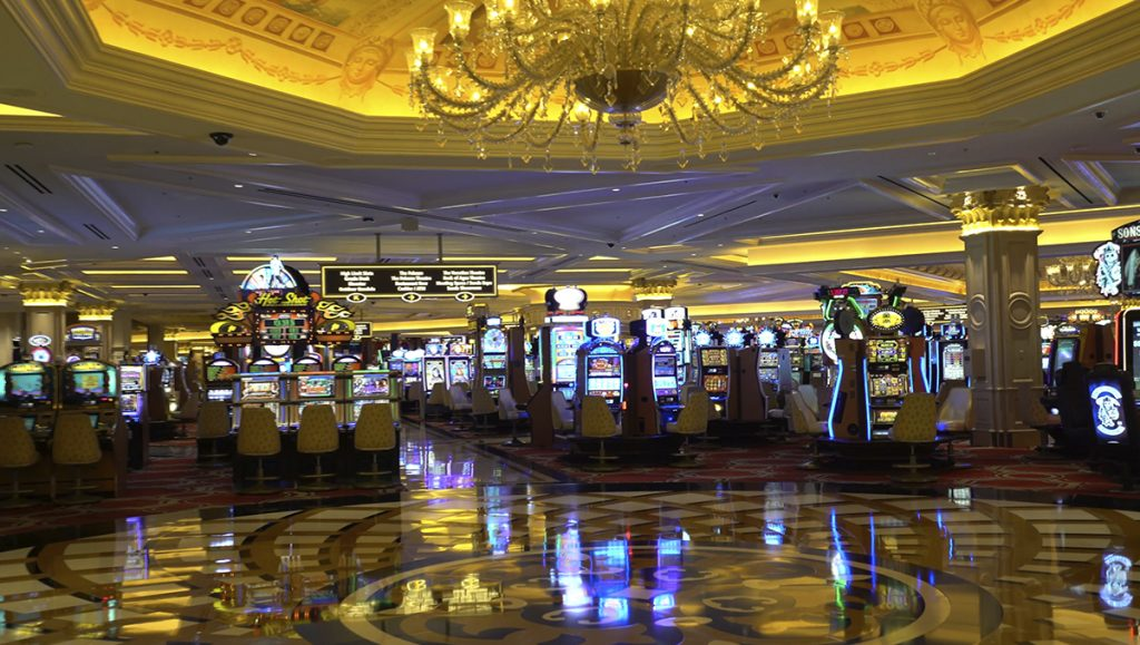 The Venetian Las Vegas Slots Floor