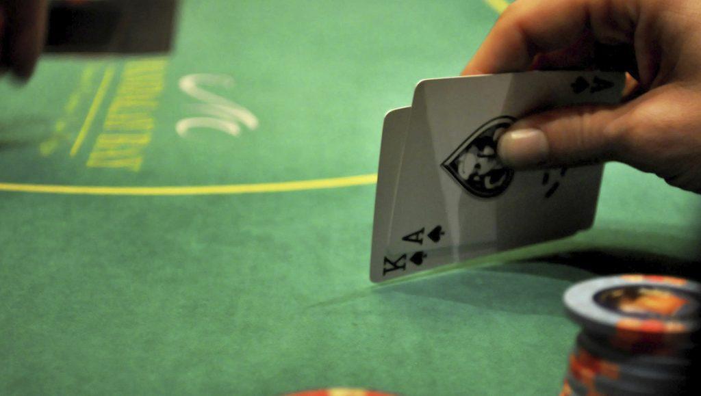 Blackjack at Mandalay Bay Hotel and Casino