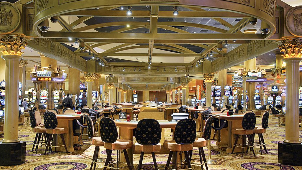 Caesars Palace Casino Floor