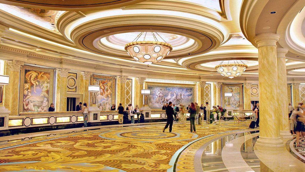 Caesars Palace Reception