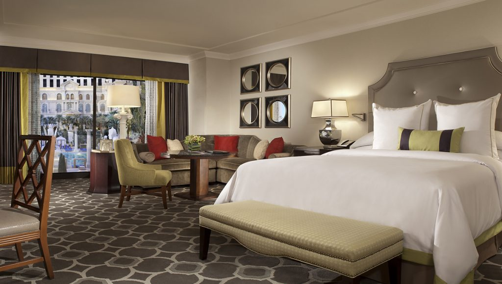 Caesars Palace Guest Rooms