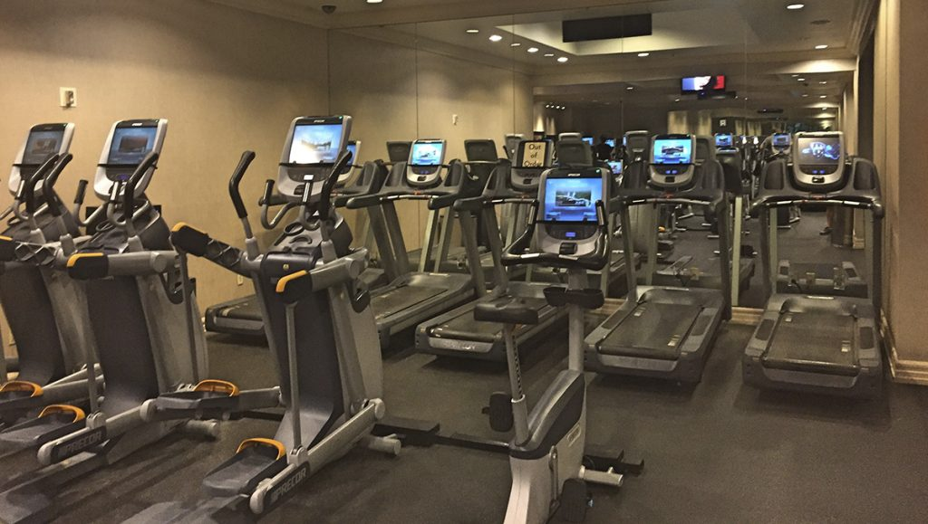 Fitness Center at Mandalay Bay Hotel and Casino