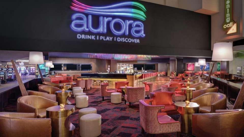 Luxor Hotel and Casino Aurora Bar