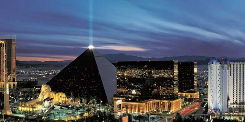 Luxor Hotel and Casino in Las Vegas
