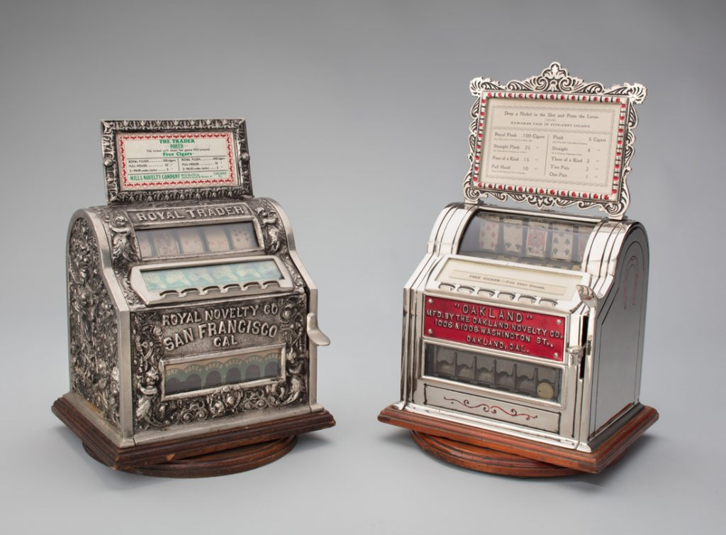 Gambling Devices of the Mechanical Age