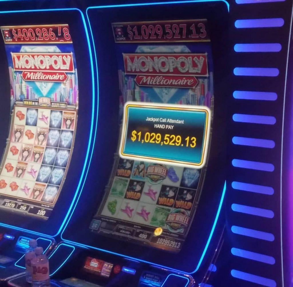 Jackpot win at Plaza Hotel and Casino