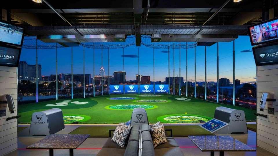 MGM Grand Top Golf