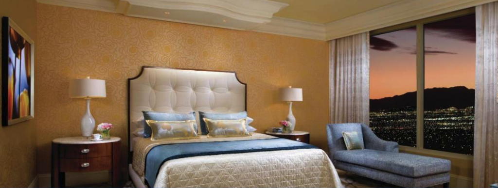 Guest Room at Bellagio Hotel and Casino