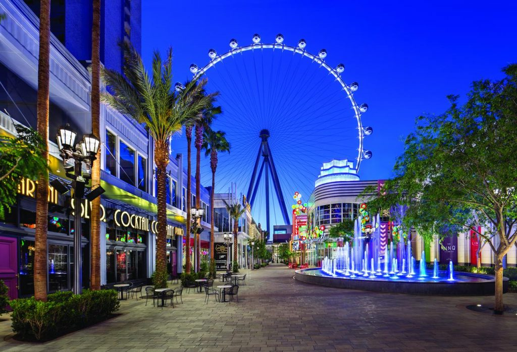 The Linq Las Vegas View of the High Roller
