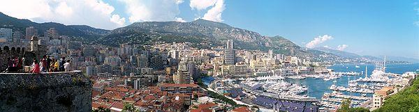 Panorama of La Condamine and Monte Carlo