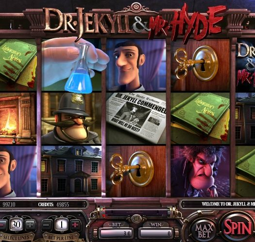 Dr-Jekyll & Mr-Hyde by Betsoft, 3D feel