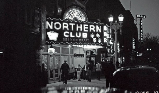 The Northern Club on Fremont St. was the first establishment to be issued a gaming license in Clark County in 1931.