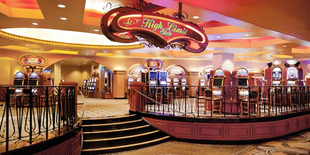 Bally's Las Vegas Casino | High Limit Slots Section