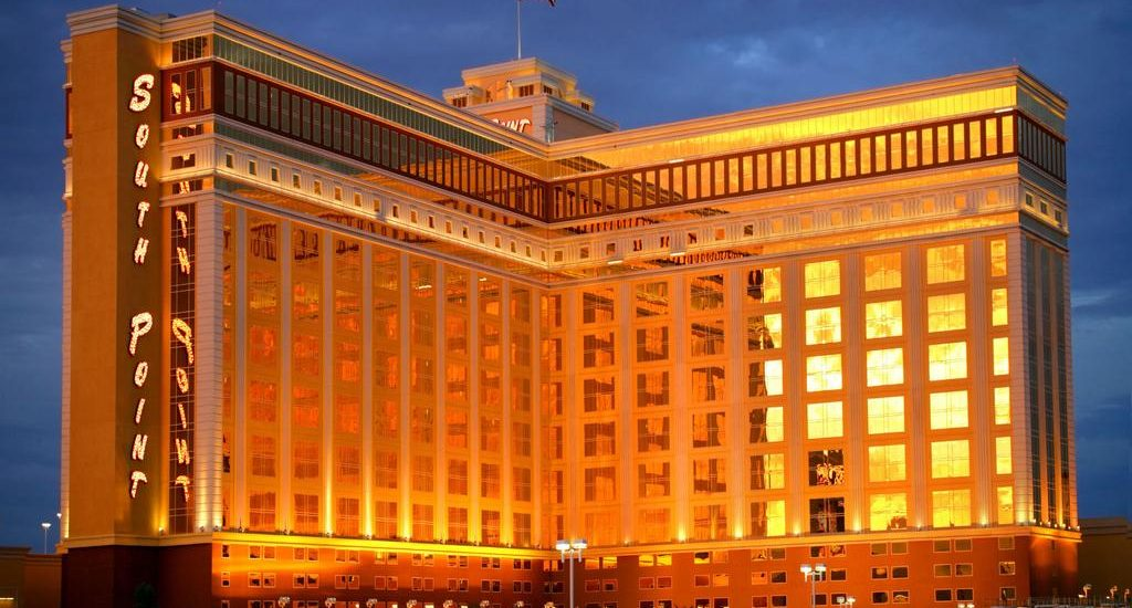 South Point Las Vegas Hotel and Casino | Frontal View at Night