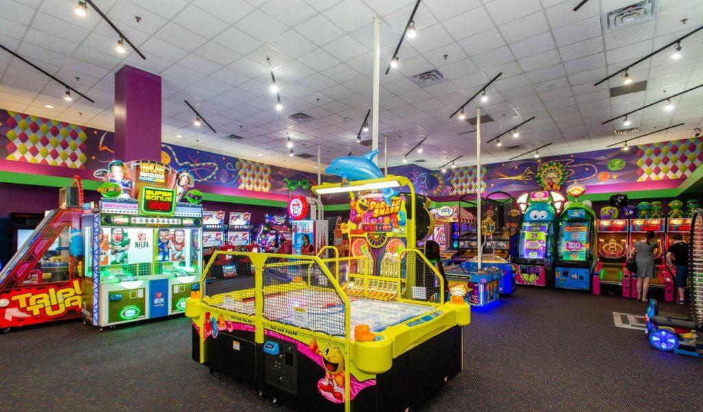 The Orleans Las Vegas Arcade next to Bowling Centre