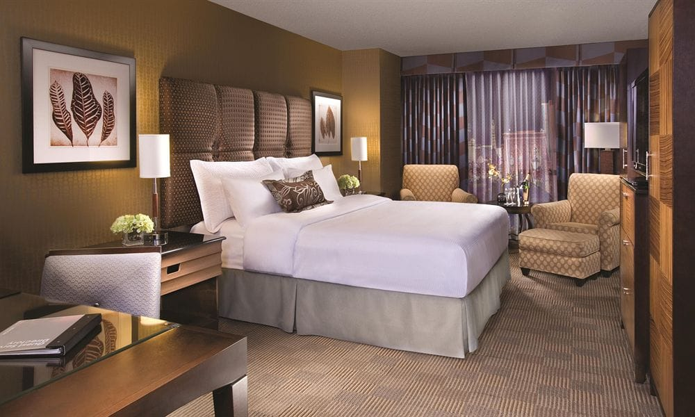 New York New York Las Vegas Hotel Room