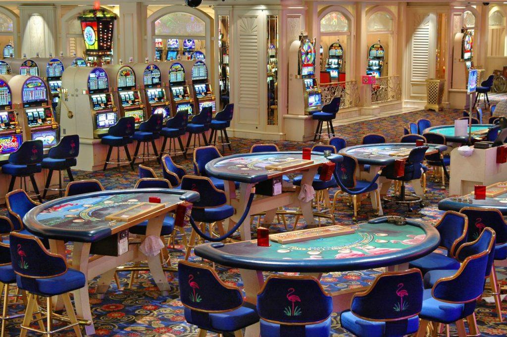 Flamingo Las Vegas Casino Main Area for Table Games