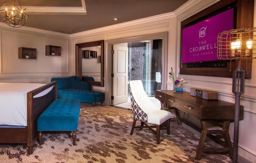 The Cromwell Las Vegas Hotel Double bedroom