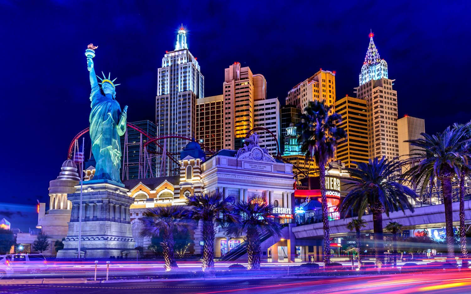 Las Vegas New York New York