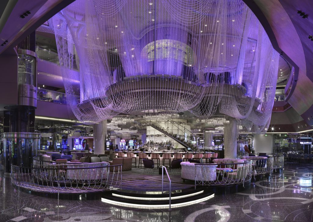 Cosmopolitan Las Vegas Main Bar and food