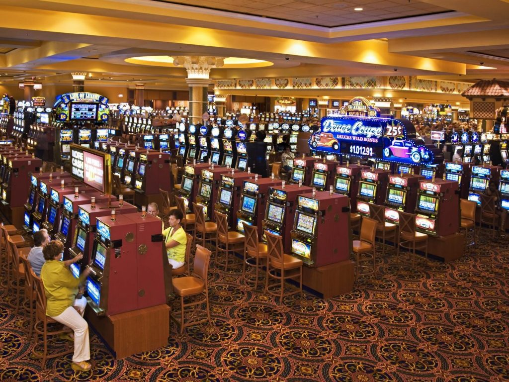 South Point Las Vegas Casino   Slot Section
