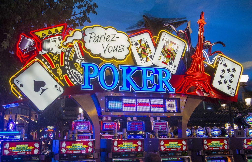 Paris Las Vegas Paris Casino Floor Poker