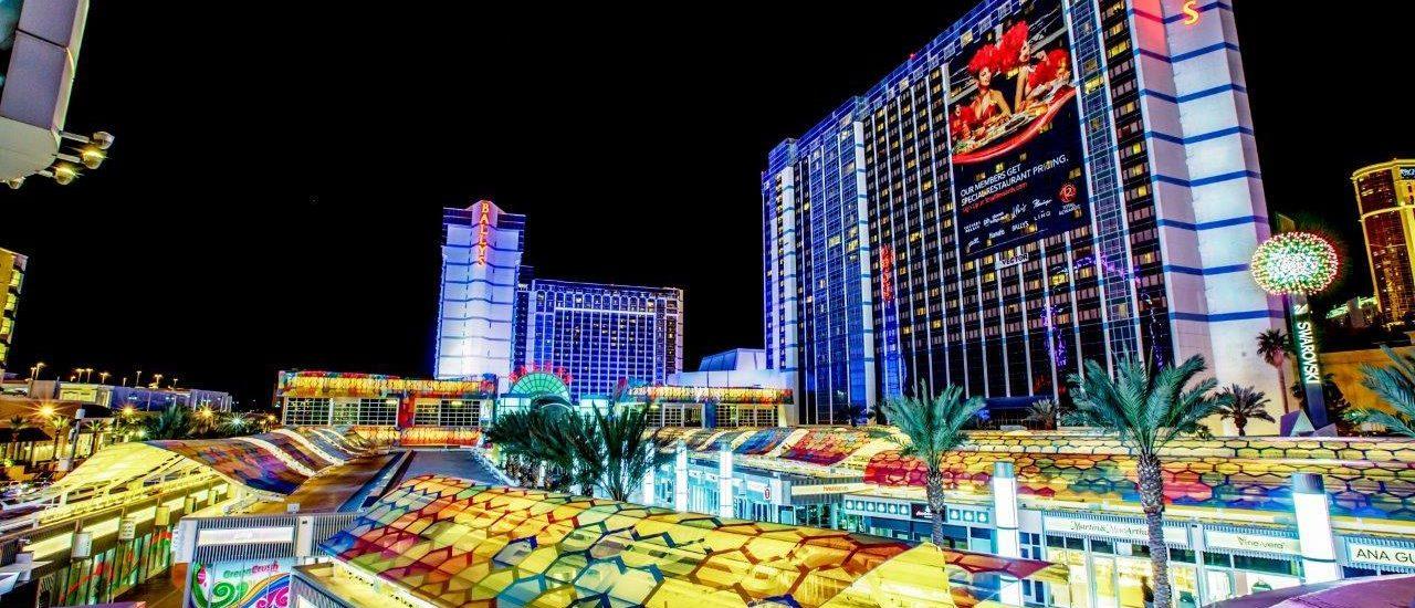 Bally's Las Vegas Hotel and Casino | Night View of Bally's