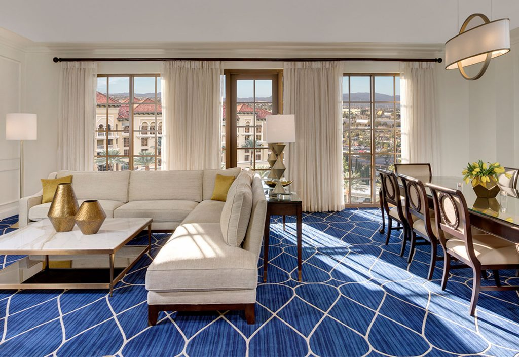 Green Valley Ranch Las Vegas | Geneva Suite with Luxury patio suites