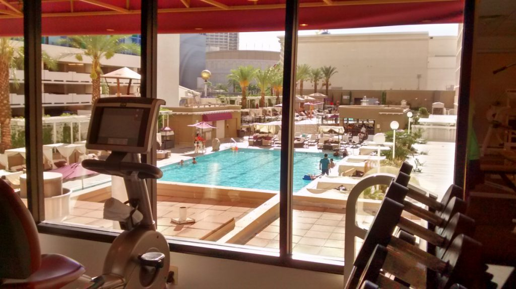 Harrah's Las Vegas Pool and Fitness Centre