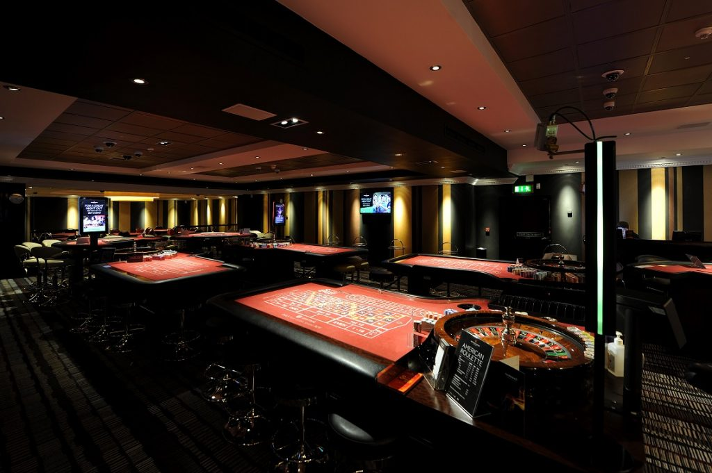 The Cromwell Las Vegas Casino Roulette Tables