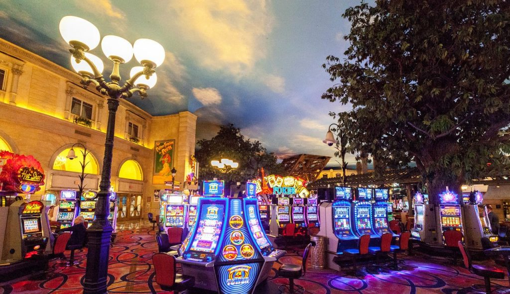 Paris Las Vegas | Paris Casino Floor Slots