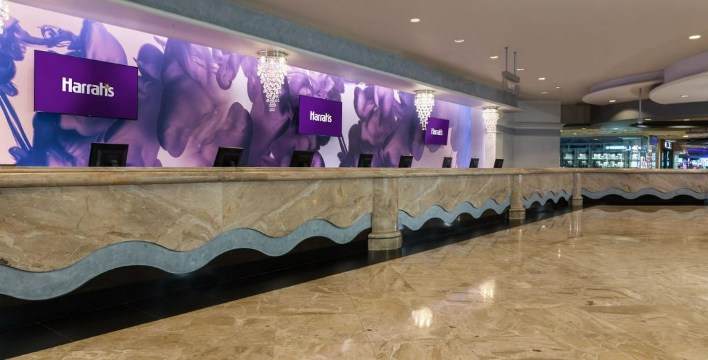 Harrah's Las Vegas Hotel and Casino Main Lobby