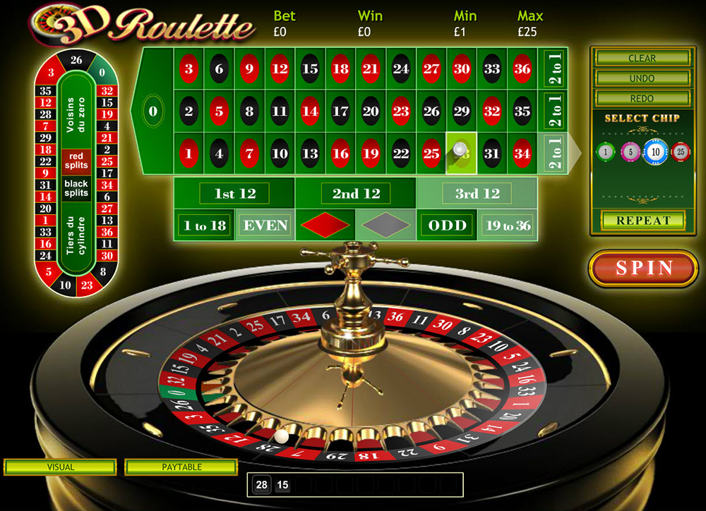 Playtech | 3D Roulette Preview