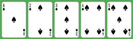 5 Card Straight Flush
