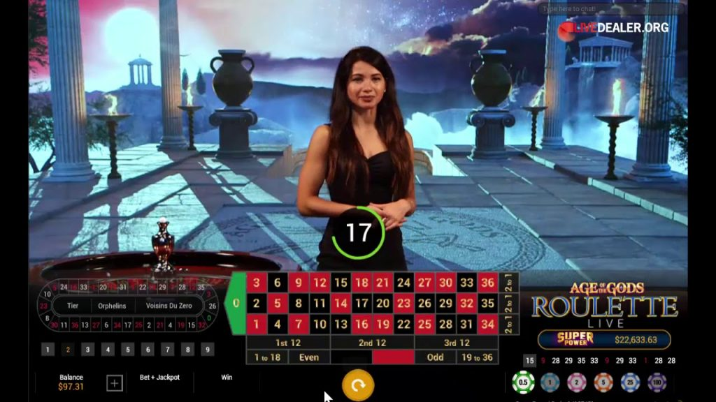 Playtech   Age Of Gods Live Roulette