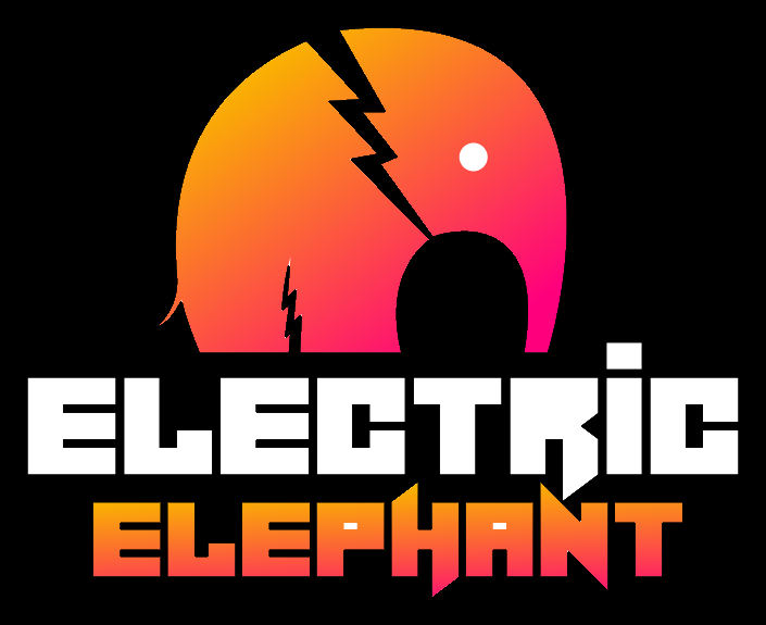 Electric Elephant Slots Logo