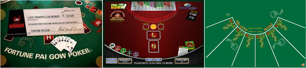 Variations of Pai Gow Poker