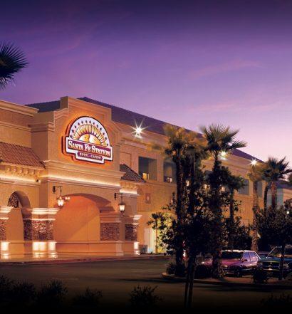 Santa Fe Station Las Vegas | Main Entrance Night View