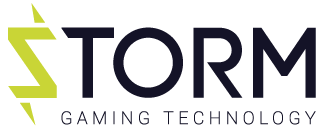 Storm Gaming Technology Slots Logo