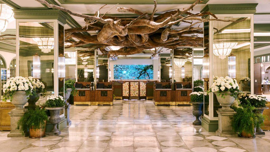 Park MGM Las Vegas Hotel Lobby