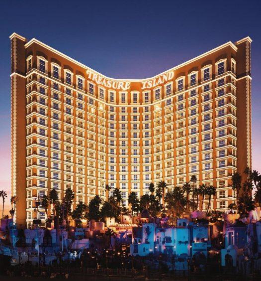 Treasure Island Las Vegas | Nightview
