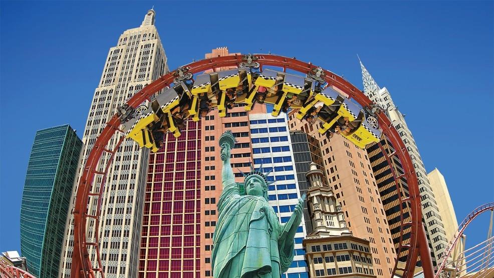 New York New York Las Vegas Roller Coaster