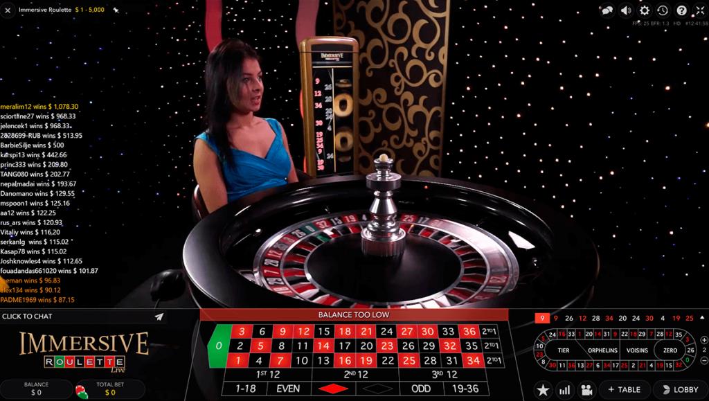 Evolution Gaming   Immersive Roulette Live