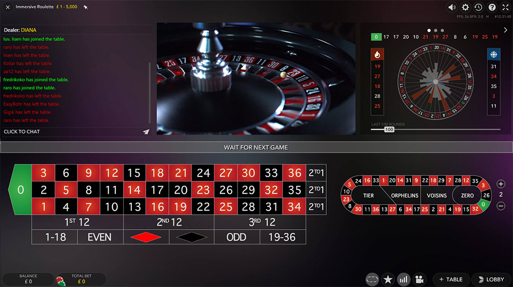 Evolution Gaming | Immersive Roulette Preview