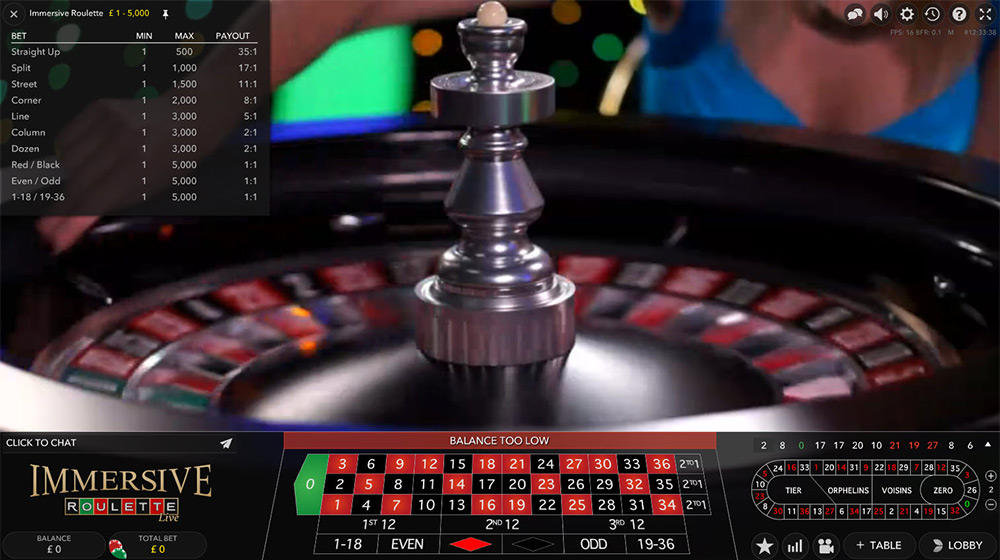 Evolution Gaming | Immersive Roulette Statistics