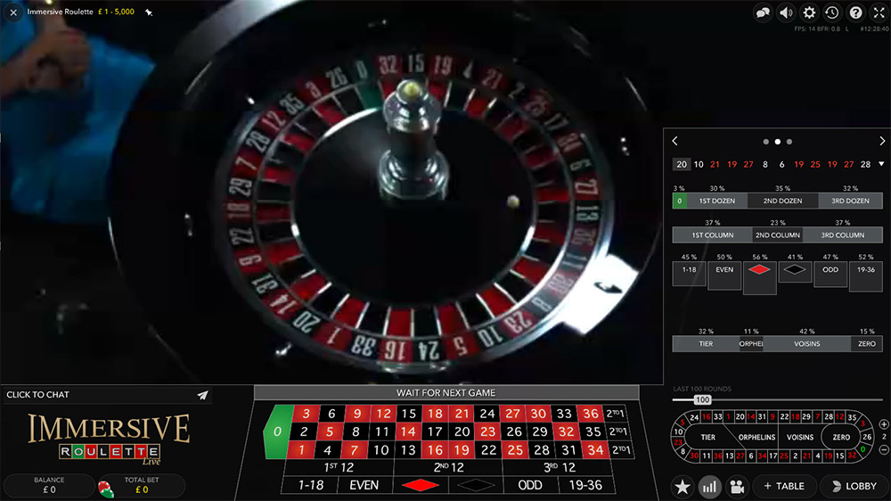 Evolution Gaming | Immersive Roulette Payouts