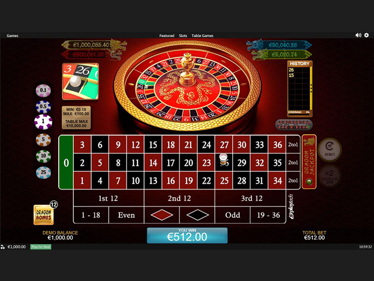 Playtech | Dragon Jackpot Roulette preview
