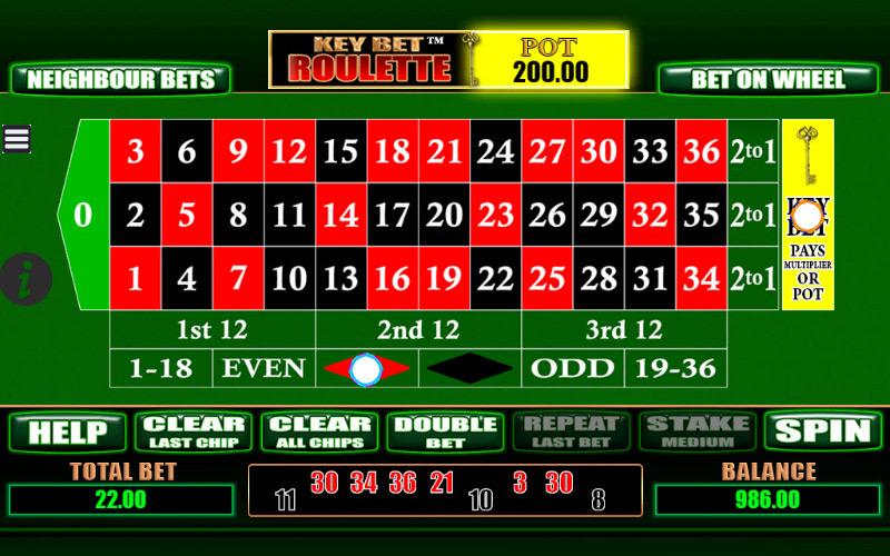Scientific Games   Key Bet Roulette Preview
