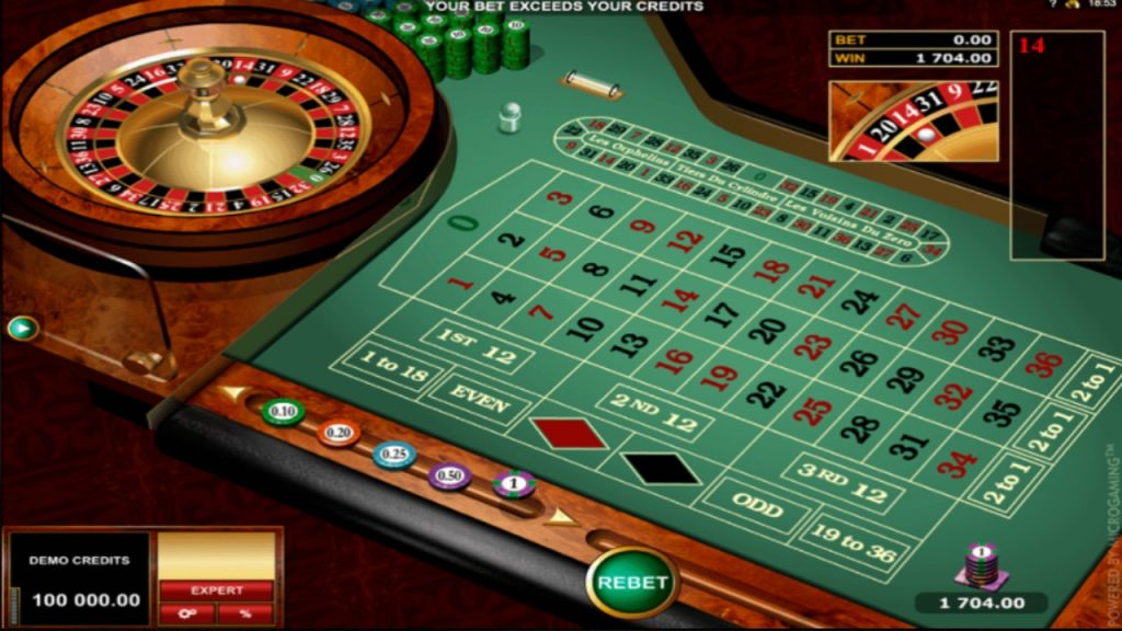 Microgaming | European Roulette Gold Seires
