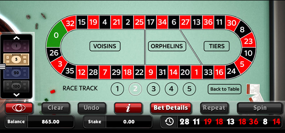 SG Interactive | Barcrest, Monopoly Roulette Race Track